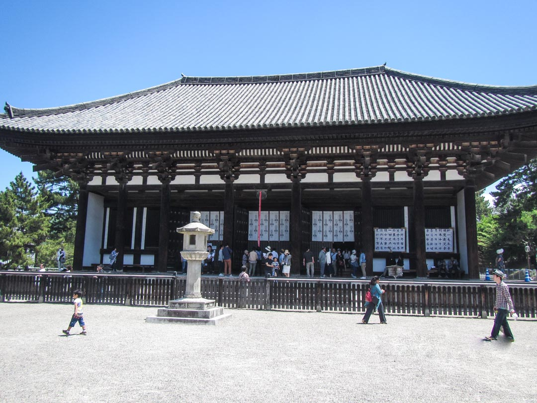 Kofuku-ji temppeli Narassa Japanissa