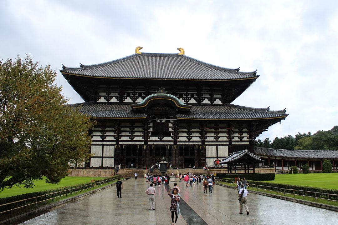Todai-ji temppeli Narassa Japanissa