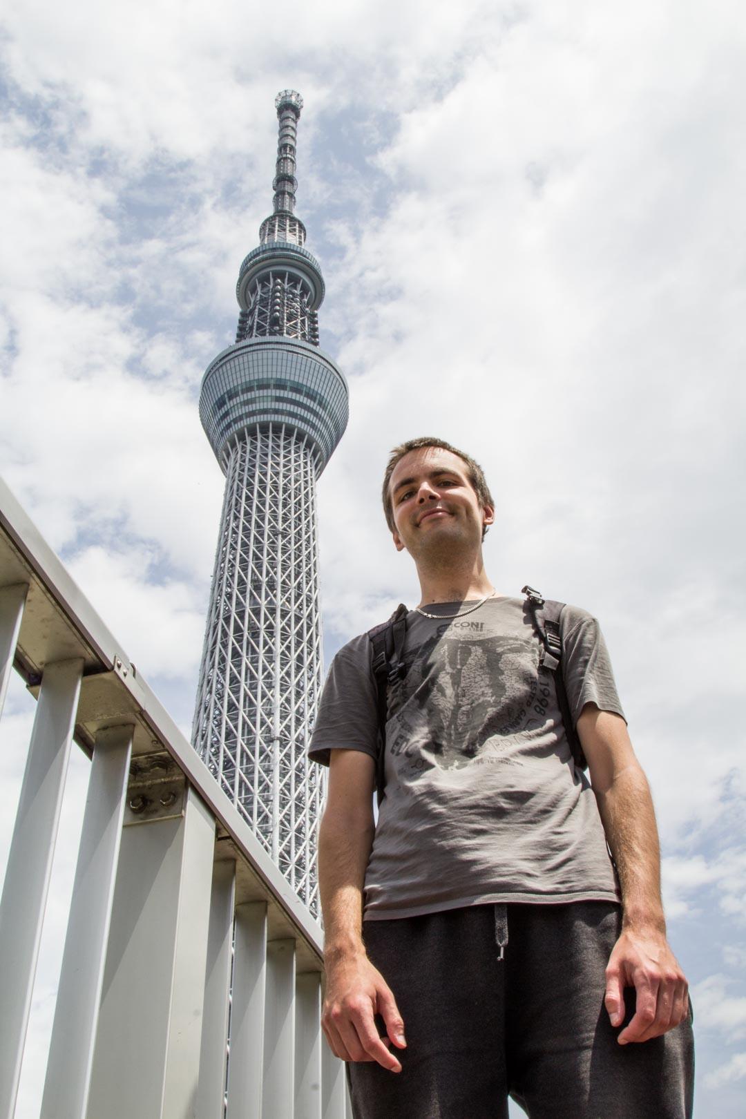 Tokyo Skytree näköalatorni Asakusa Tokio Japani