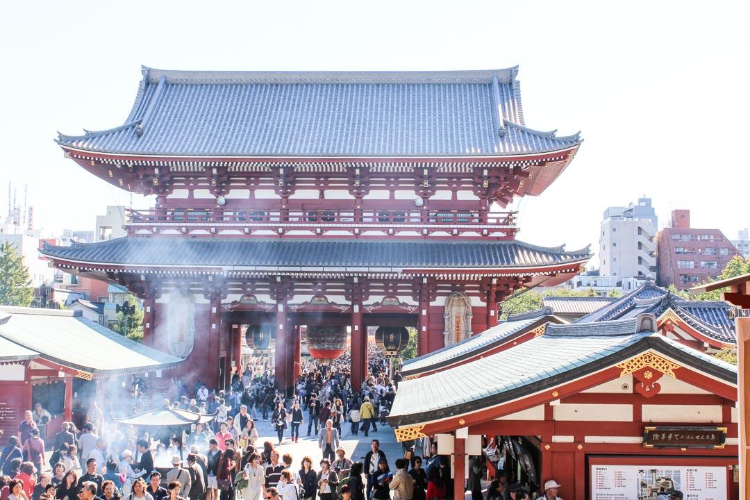 Sensō-jin temppeli Tokiossa Japanissa