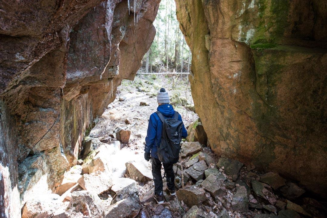 Kirnuhuoko Repoveden kansallispuistossa