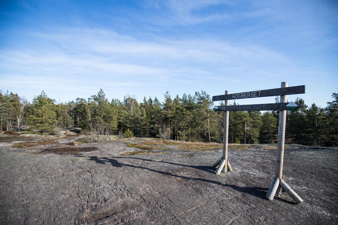 Kalkinpolttajanpolku Sipoonkorven kansallispuistossa