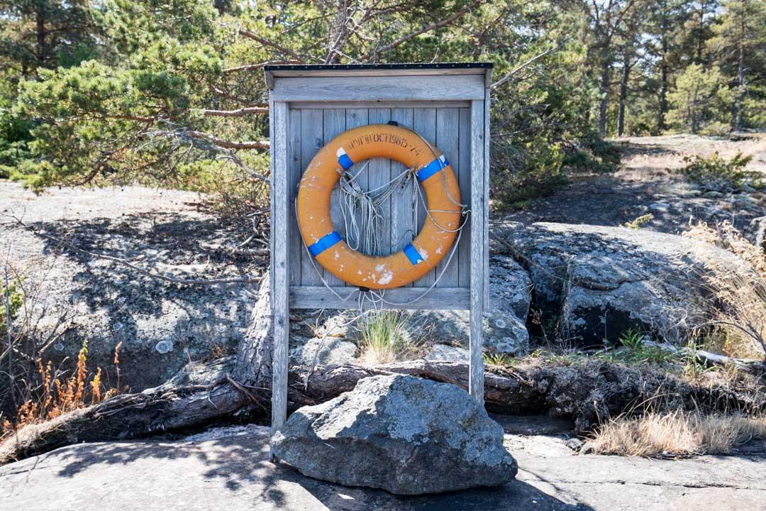 pelastusrengas Ulko-Tammiossa