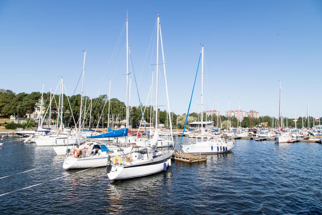 lähtö Itäisen Suomenlahden kansallispuistoon Kotkan Sapokasta