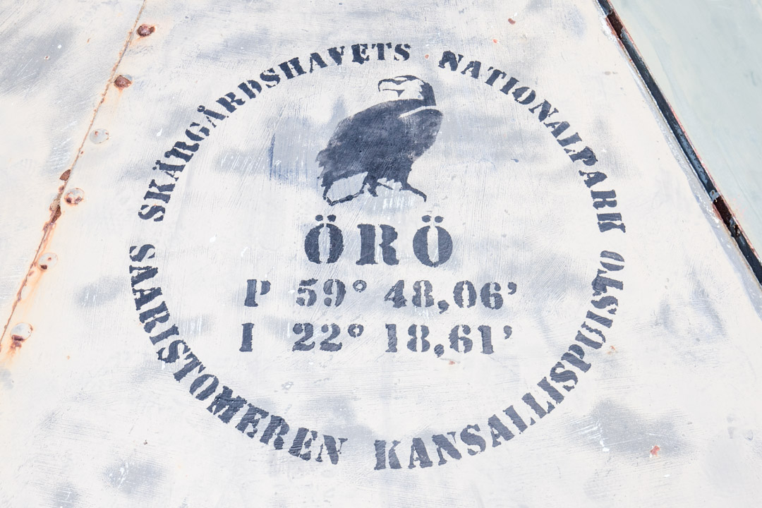 Örön saari Saaristomeren kansallispuistossa