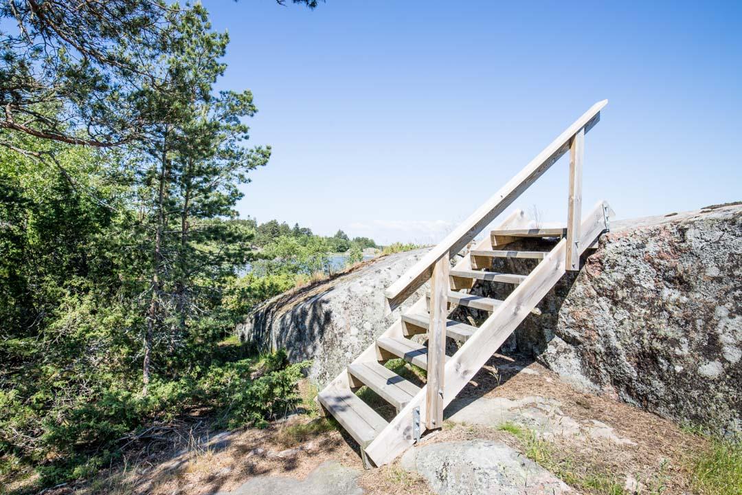 Saaristomeren kansallispuisto Örön saaren 120mm kierros