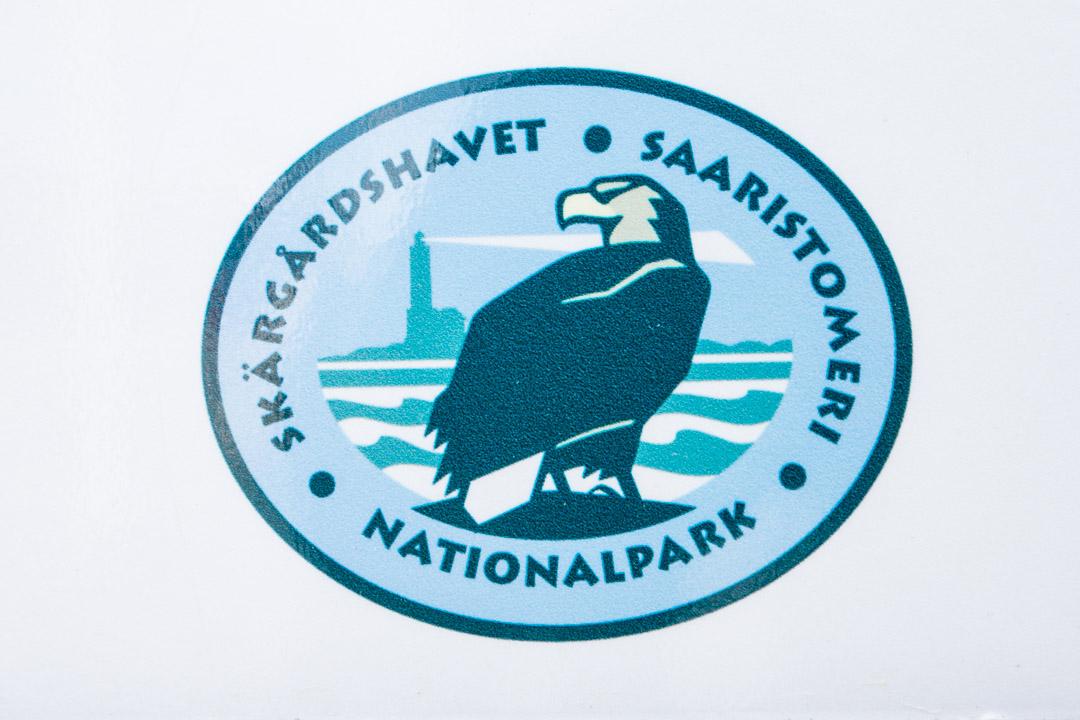 Saaristomeren kansallispuiston logo