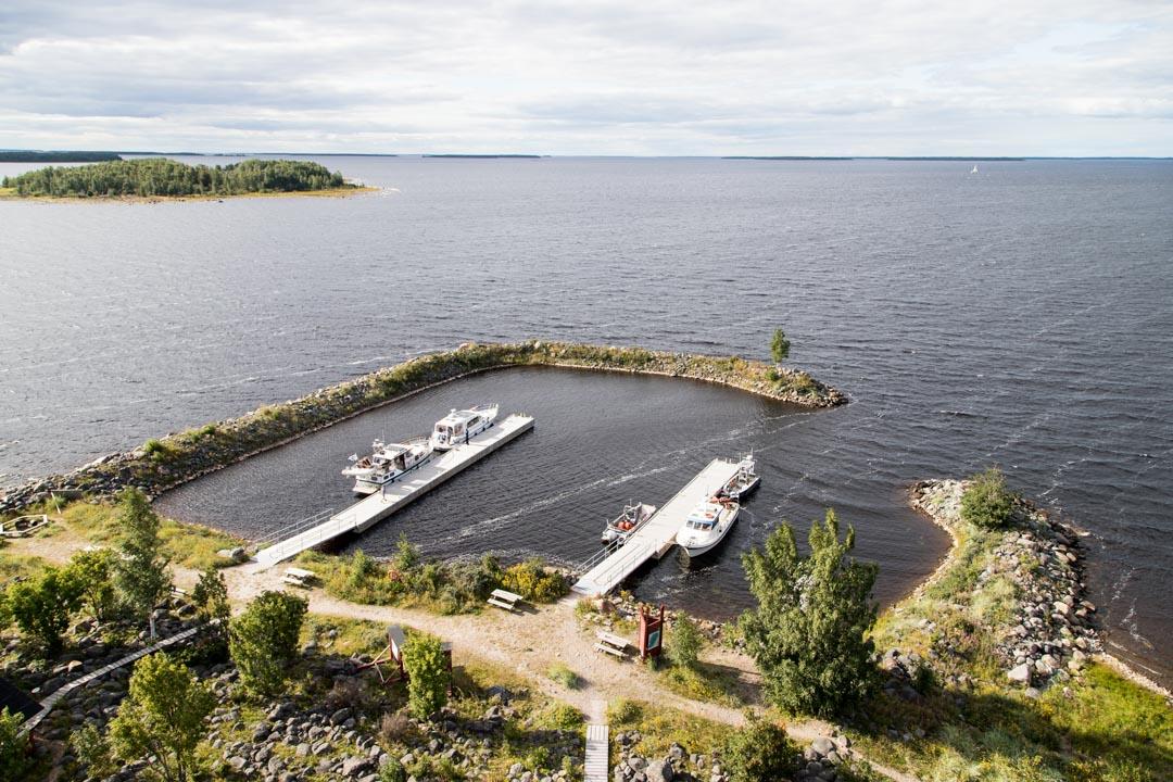 Perämeren kansallispuiston Selkä-Sarven satama