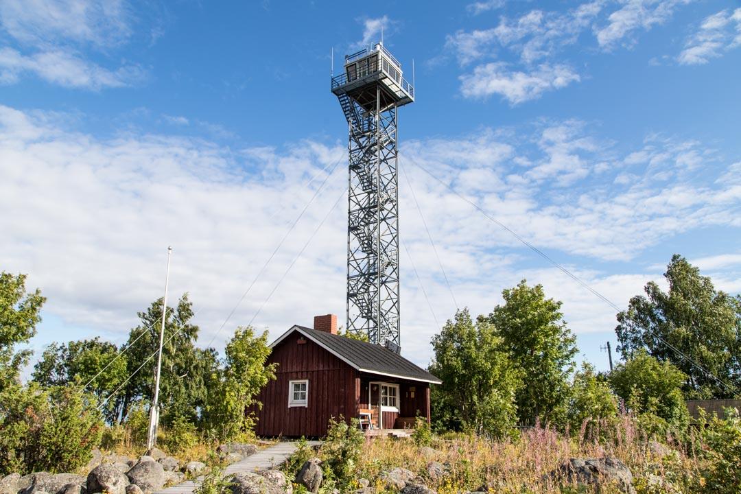 Perämeren kansallispuiston Selkä-Sarven torni