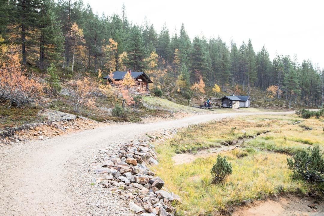 Ahopään polku Urho Kekkosen kansallispuistossa