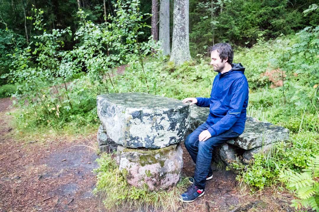 Dagmarin puisto ja Keisarin pöytä