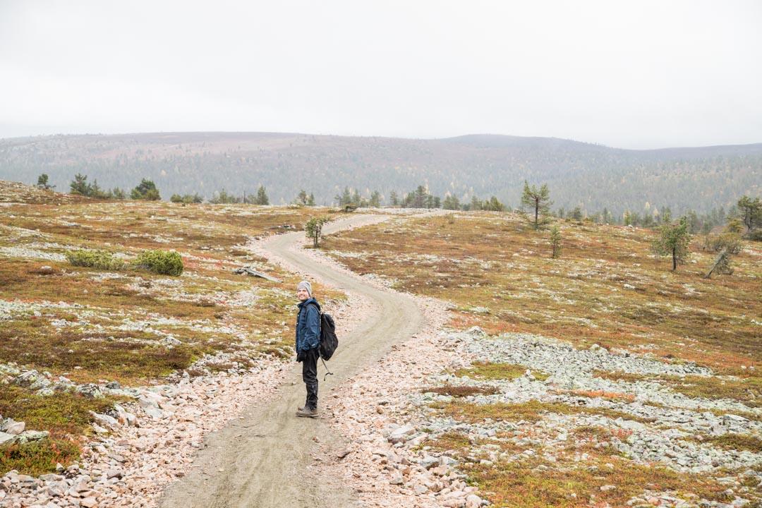 ruskaa Kukastunturin kierroksella, Pallas-Yllästunturin kansallispuisto