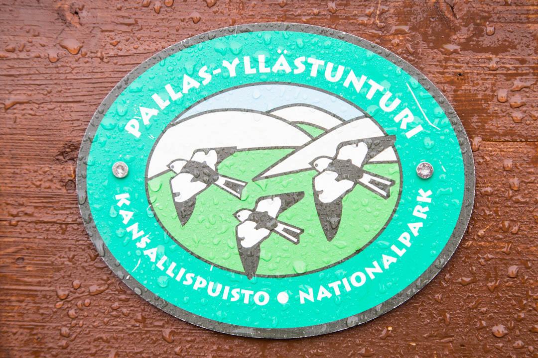 Pallas-Yllästunturin kansallispuiston logo