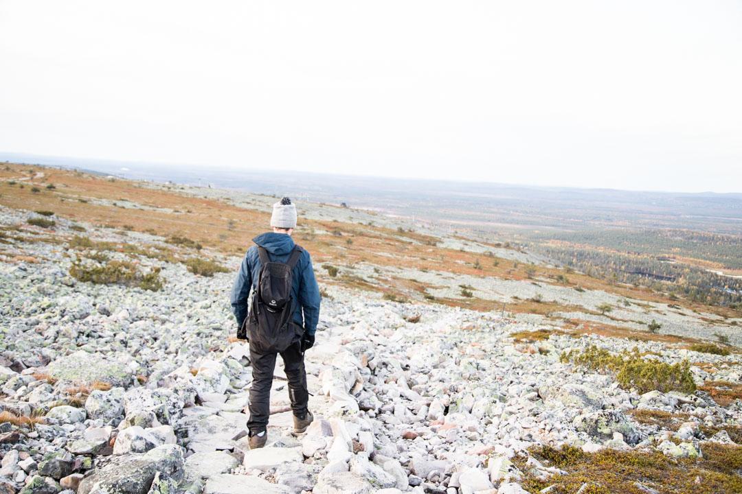 Luoston vaellusluontopolku Pyhä-Luoston kansallispuistossa