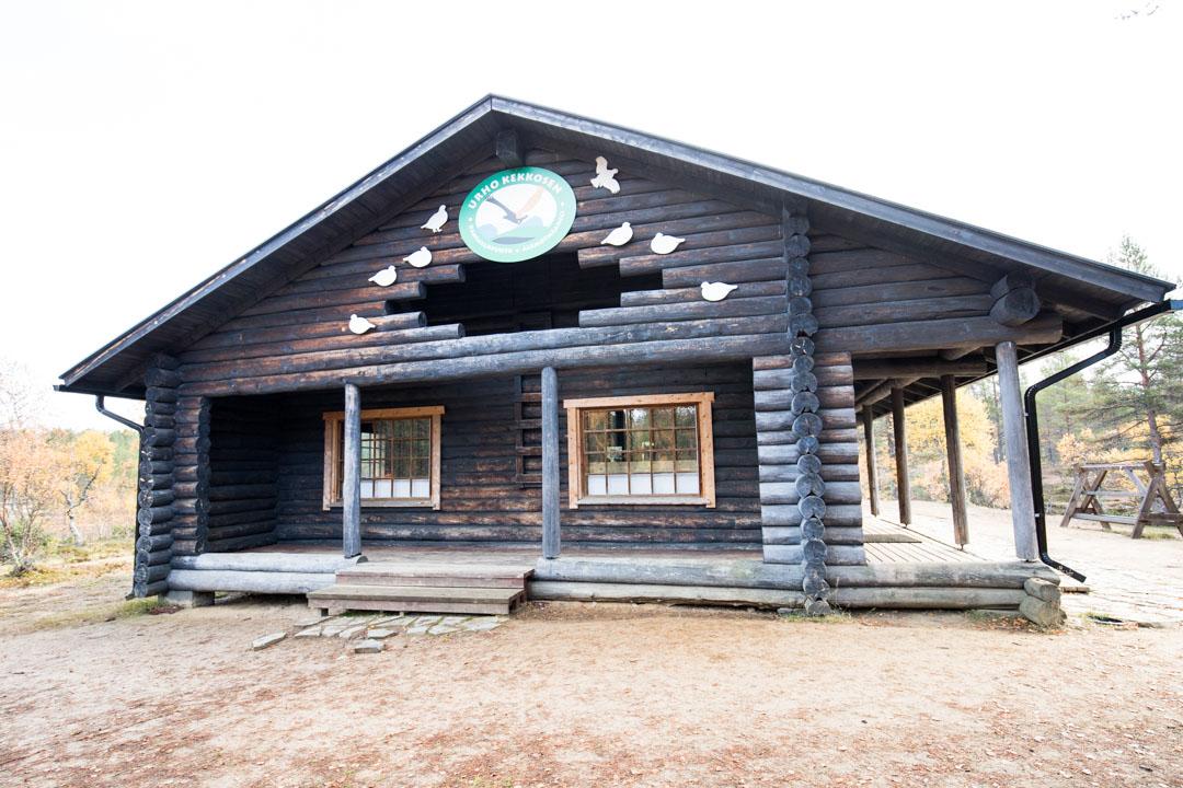 Luulammen erämaakahvila Urho Kekkosen kansallispuistossa