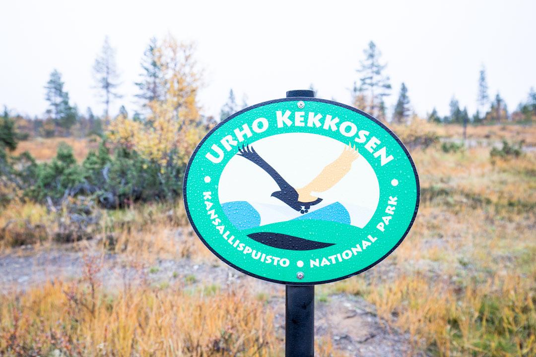 Urho Kekkosen kansallispuiston logo