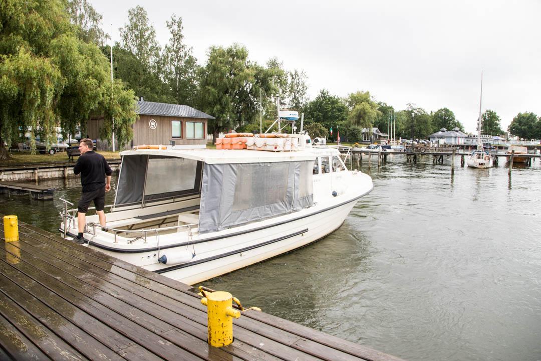 venekuljetus Jussarön saareen Tammisaaren kansallispuistoon