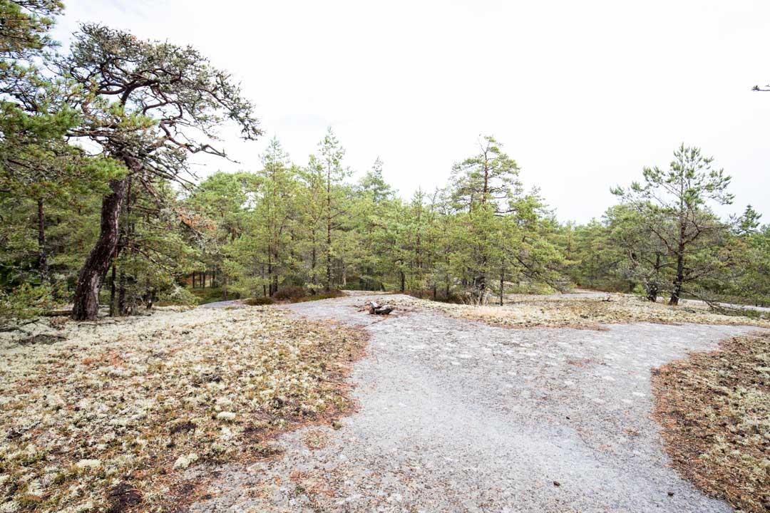 Jussarön luontopolku Tammisaaren kansallispuistossa