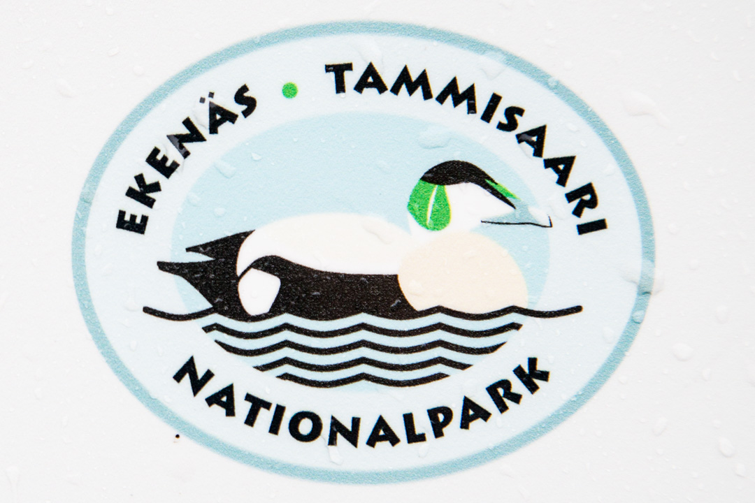 Tammisaaren kansallispuiston logo
