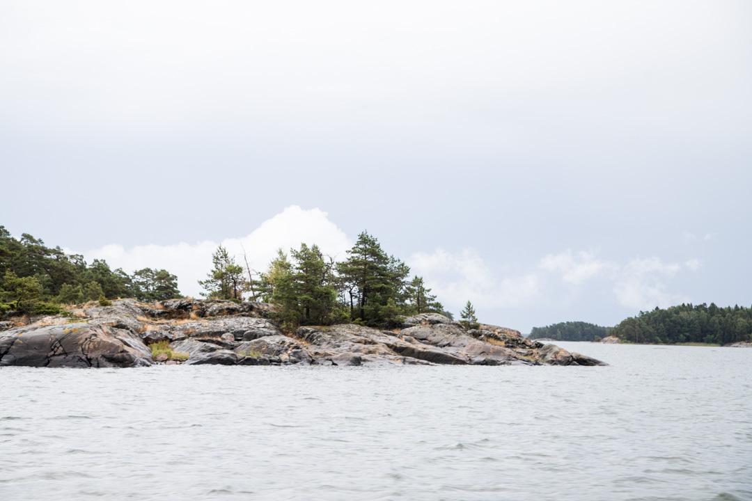 maisemia matkalla Jussarön saareen Tammisaaren kansallispuistoon