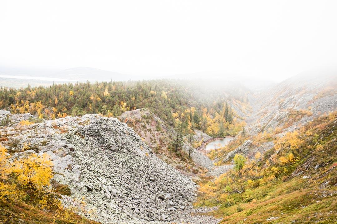 Noitatunturin valloitus Pyhä-Luoston kansallispuistossa