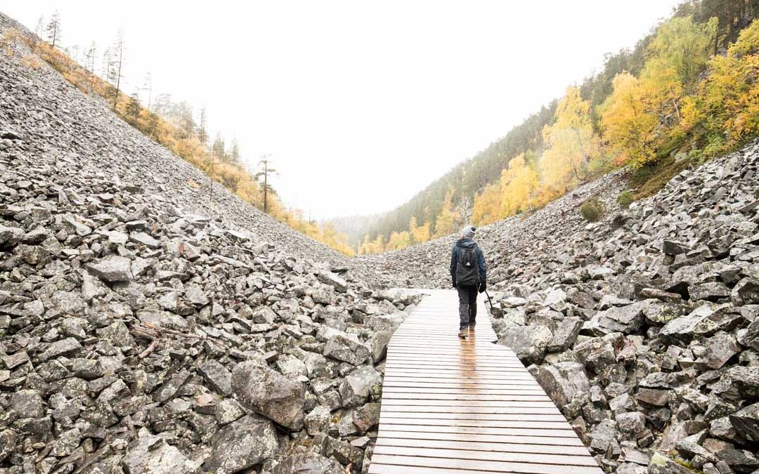 Pyhä-Luoston kansallispuisto – Pyhätunturin reitit