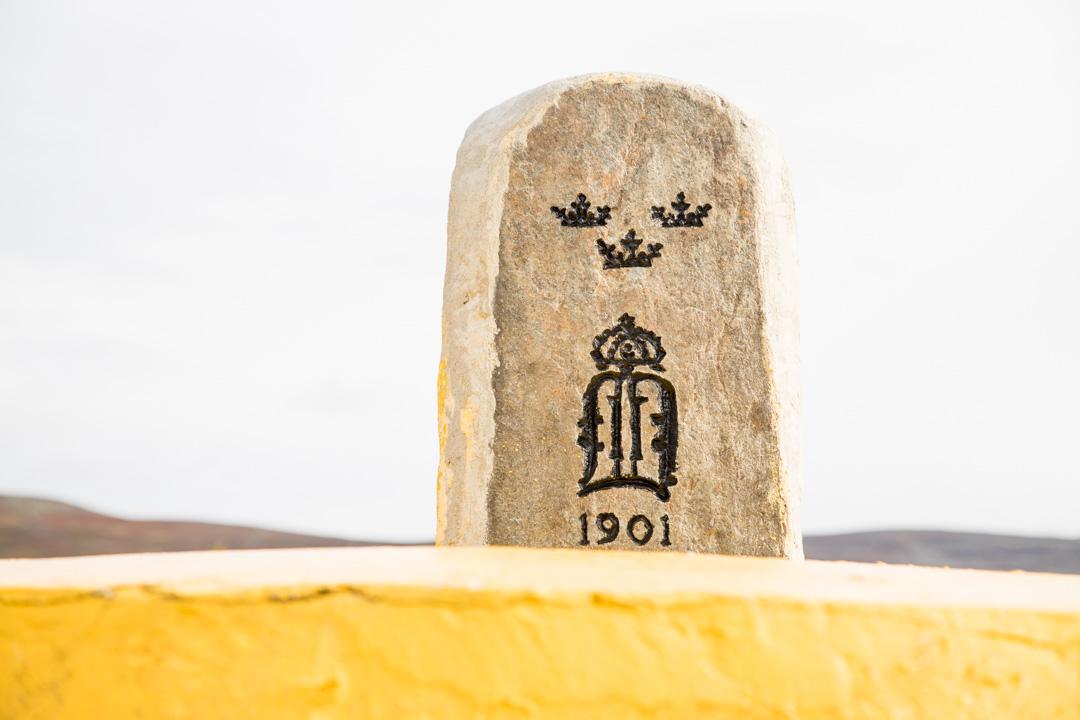 kolmen valtakunnan rajapyykki Mallan luonnonpuistossa