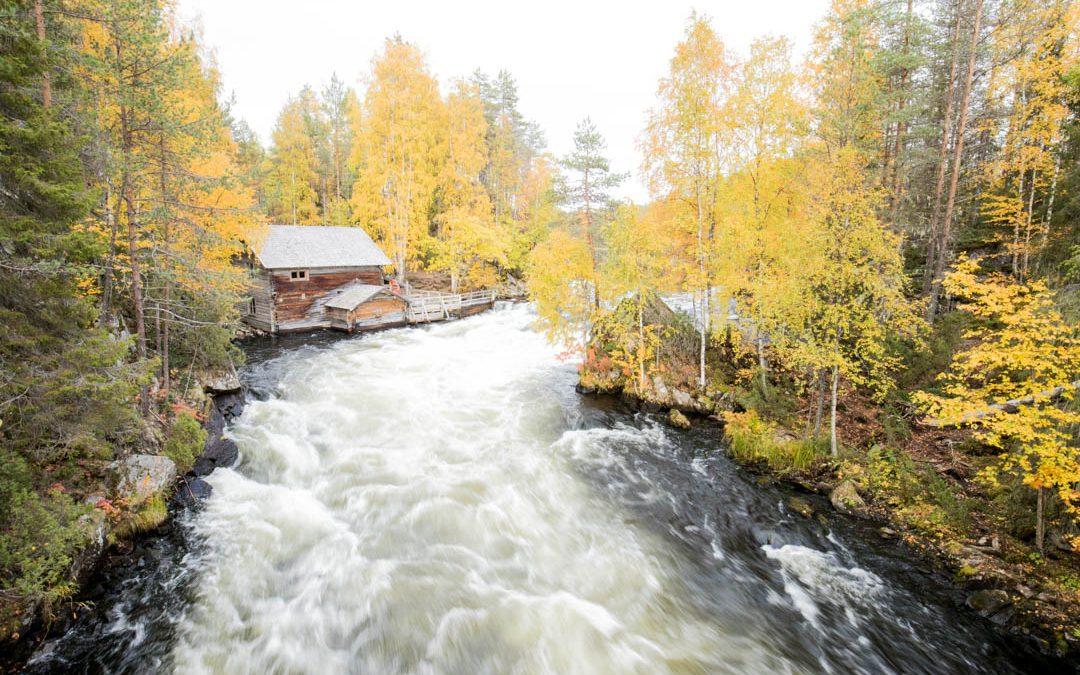 Pieni Karhunkierros syksyllä ruska-aikaan